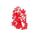 56个民族窗花贴玻璃贴作品中国风传统手工剪纸学校装饰墙贴画少数民族窗花橱窗玻璃贴纸